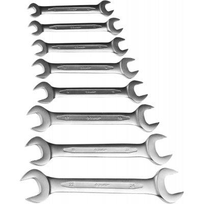 Набор рожковых гаечных ключей 8 шт, 8 - 24 мм, ЗУБР