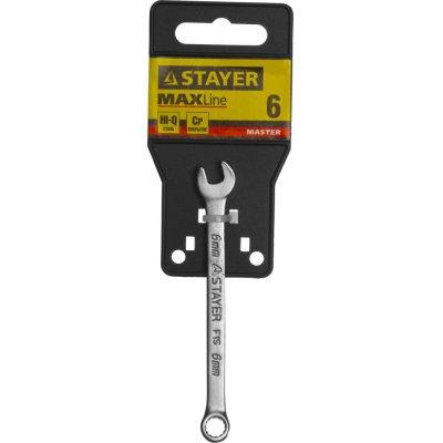 Комбинированный гаечный ключ 6 мм, STAYER