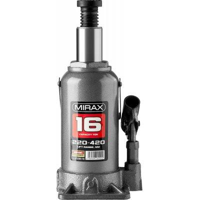 MIRAX 16т, 220-420 мм домкрат бутылочный гидравлический