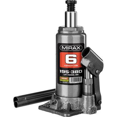 MIRAX 6т, 195-380 мм домкрат бутылочный гидравлический